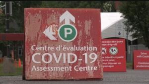 A COVID-19 assessment centre in Ottawa, Ont. (Colton Praill / CTV News Ottawa)