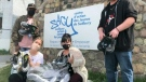 Initiative to provide shoes for the homeless