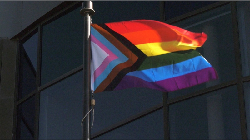 Lethbridge Pride started Monday evening with a virtual Pride flag raising at city hall.