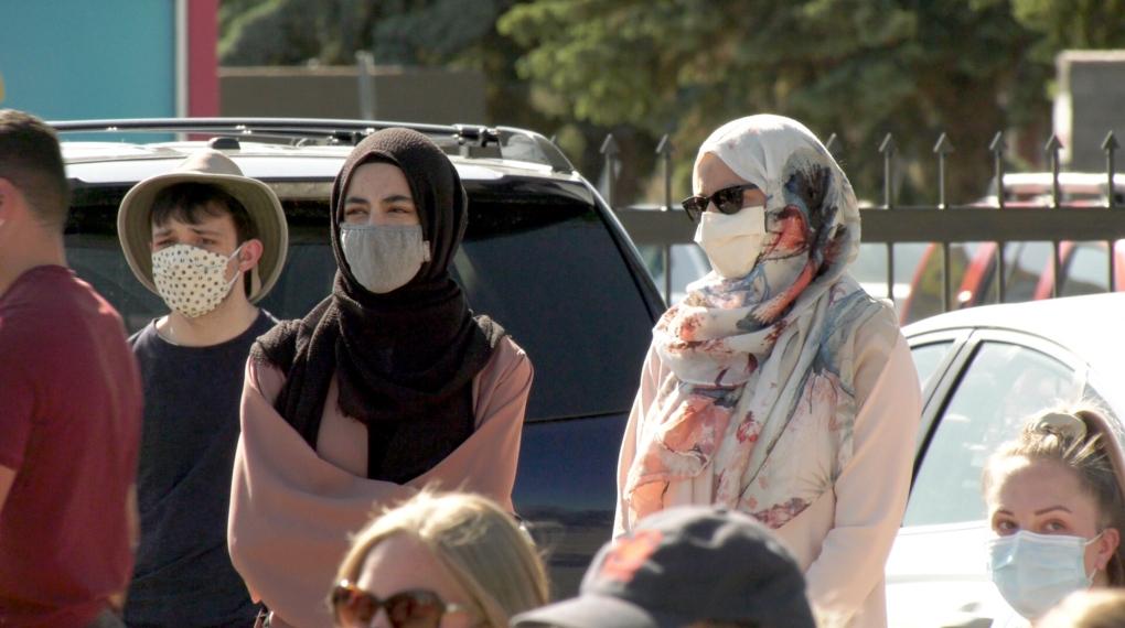Lethbridge Muslim vigil