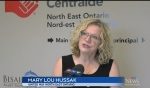 The United Way Centraide North East Ontario has created an initiative called Soles United that's designed to help the homeless and groups that help the homeless. (Photo from video)
