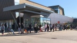 Huge lines in Ont. for second doses