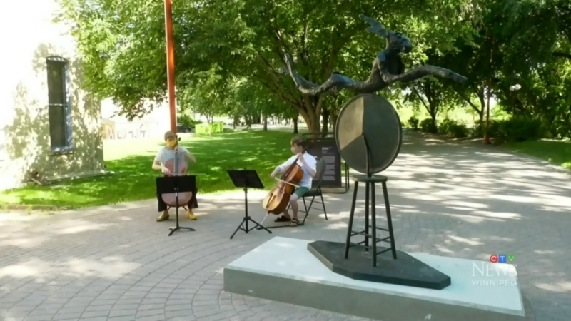 New art on loan at The Forks