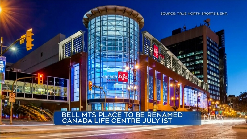 New name for Winnipeg Jets' home