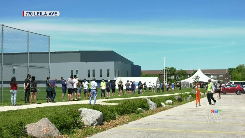 Leila supersite busy on first day of walk-ups
