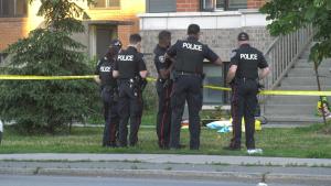 Ottawa Police investigate a stabbing on Baseline Road