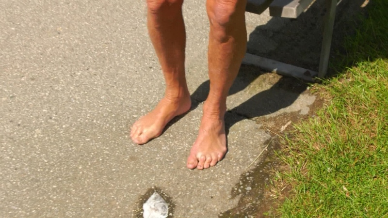 The Last Word: Going barefoot