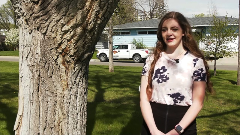 She's a grade 12 student in Calgary dealing with a health challenge and now she's our Inspired Albertan, Brooklyn Rhead.