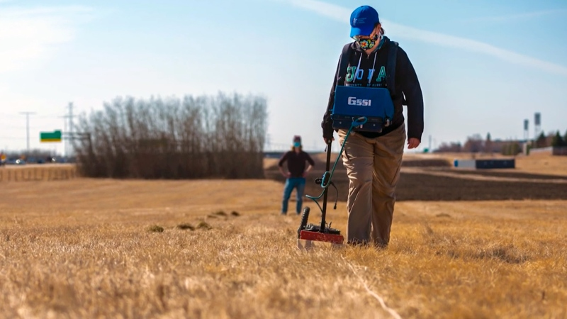 The challenges of using ground-penetrating radar