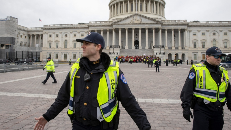 Five months after the January 6 insurrection, the U.S. House and Senate have come to an agreement that will award the Congressional Gold Medal to the officers who defended the Capitol. (Tasos Katopodis/Getty Images via CNN)