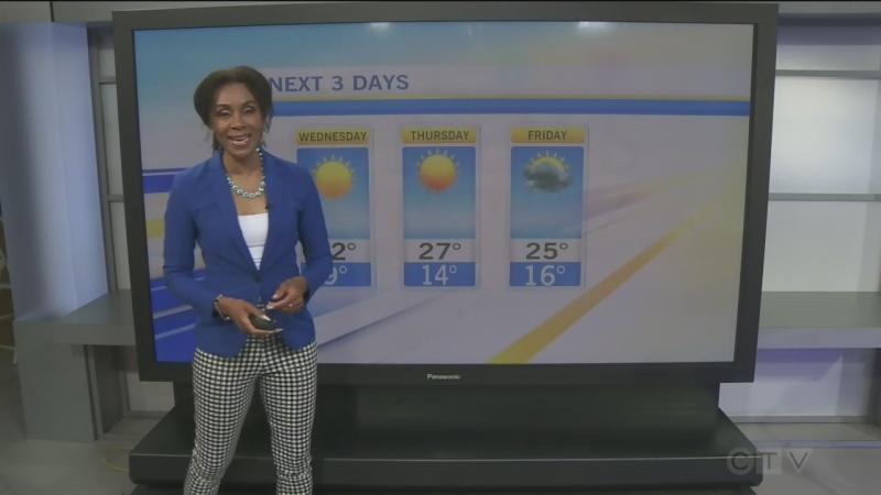 CTV Morning Live Weather June 16