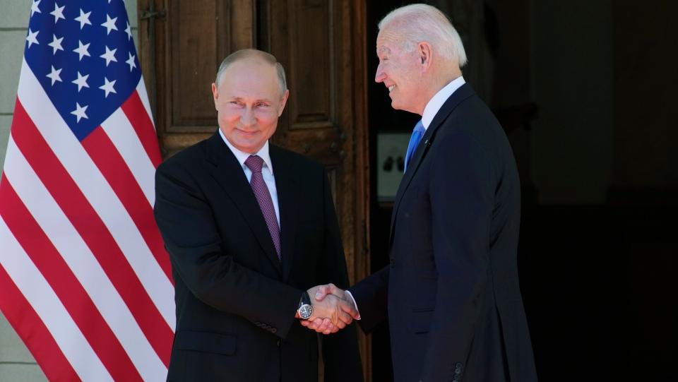 Biden and Putin meet
