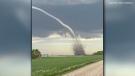 Tornado touches down in Sask. farm field