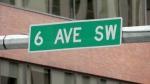 Sixth Avenue S.W. Calgary