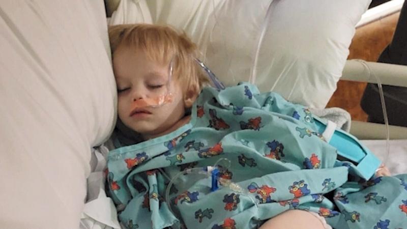 Toddler swallows 16 magnetic balls