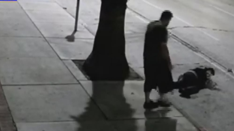 Warning: Asian woman attacked on Calif. street