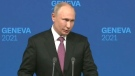 Putin on cybersecurity talks with Biden
