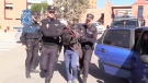 Spain's national police arrest Alberto Sanchez Gomez in February 2019. (From Policia Nacional/Twitter)