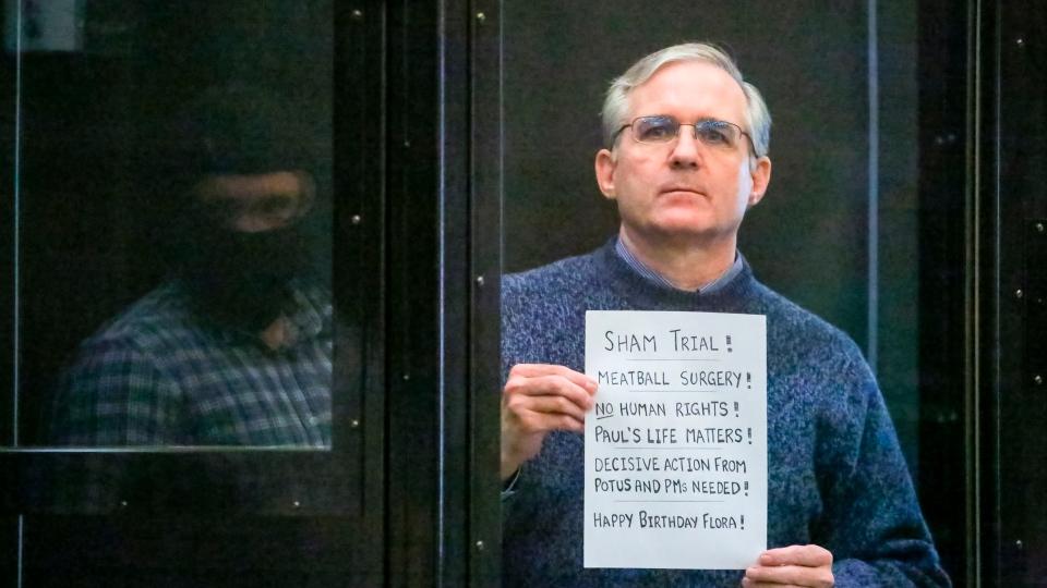 Paul Whelan sentenced