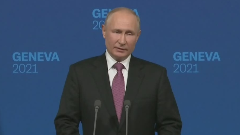 Putin's full press conference after Biden meeting