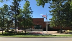 St. Albert schools were under a hold and secure on Wednesday after multiple carjackings. (Evan Klippenstein/CTV News Edmonton)