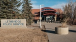 Lethbridge Police Service headquarters (THE CANADIAN PRESS/David Rossiter)