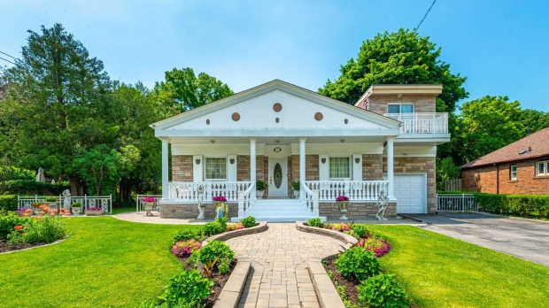 """This home, located at 73 Glenwood Crescent, was featured in the 2002 movie """"My Big Fat Greek Wedding."""" (Realtor.ca)"""