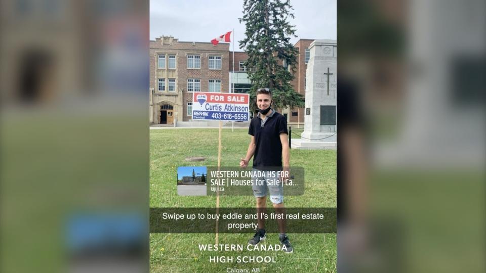 Western Canada High School grad prank Calgary