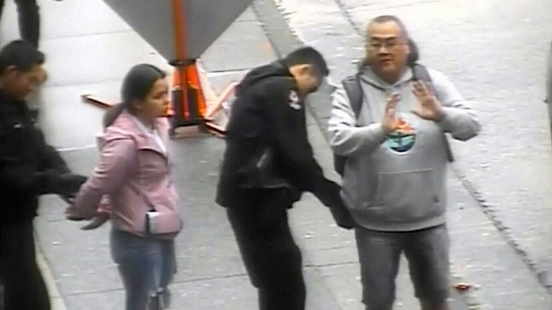 Video shows handcuffing of Indigenous man, girl