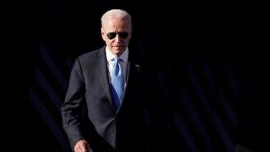 U.S. President Joe Biden gifted Russian President Vladimir Putin a pair of custom aviator sunglasses made by Randolph USA during their summit on June 16, according to a White House official. (Patrick Semansky/AP)