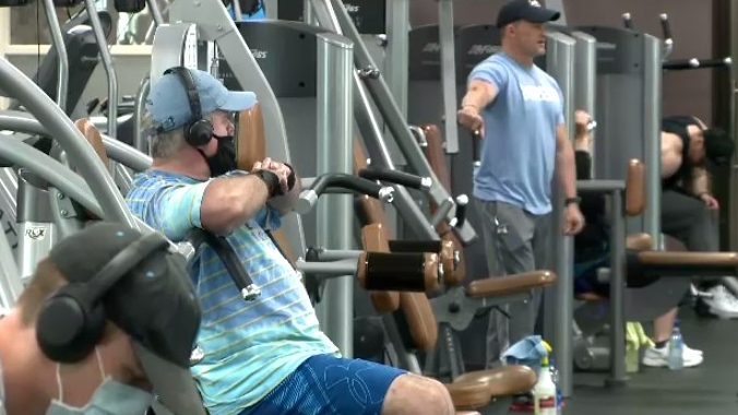 At Ascendo Fitness in Sydney, owner Shauna Sifnakis said her gym was busy since its doors opened at 5 a.m.
