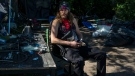 Jimmy Pudjunas is pictured by his home at an encampment at Trinity Bellwoods Park in Toronto on Tuesday, June 15, 2021. The residents at the park are under threat of eviction as part of the city's policy of clearing encampments. THE CANADIAN PRESS/Chris Young