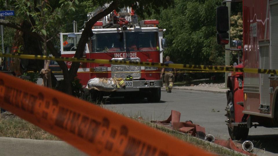 Fatal fire in Aylmer