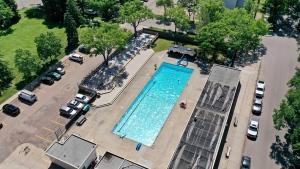 Oliver pool welcomes back Edmontonians after nearly three years of being closed.