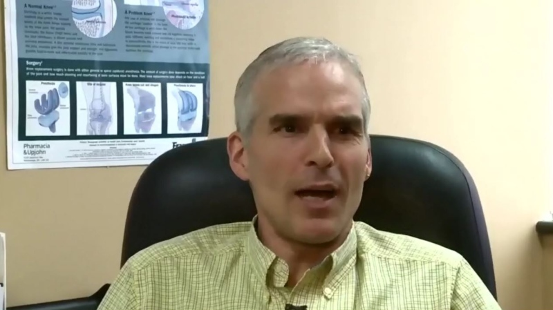 """""""I'm not surprised Dr. Strang was angry, because my views were misrepresented to him,"""" says Dr. Chris Milburn, a Cape Breton physician."""