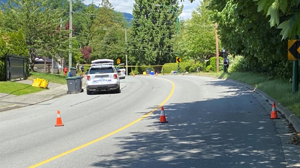 North Vancouver explosive