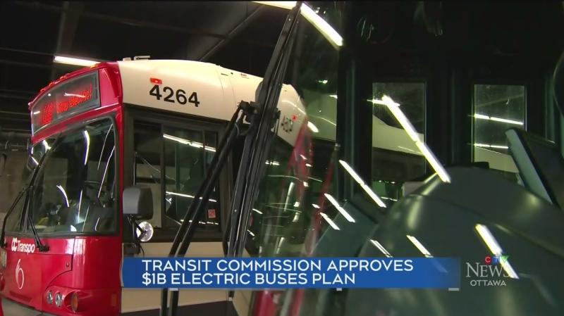 OC Transpo's $1B electric bus plan
