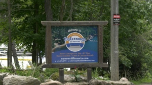 The owners of Waterways Resort Campground in the Township of Rideau Lakes is looking to expand its campsite. (Dylan Dyson/CTV News Ottawa)