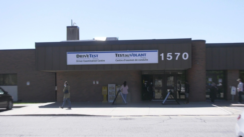 DriveTest Centre in Ottawa