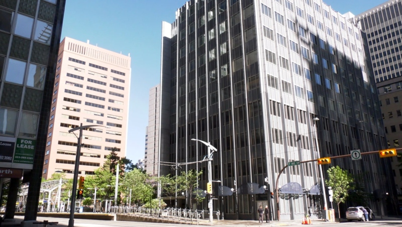 Once the home of a Calgary corporation, this downtown office will become affordable housing for approximately 180 residents.