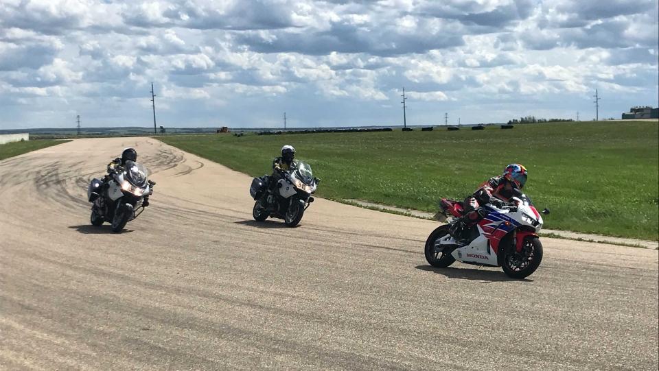 Raceway in Fort Sask