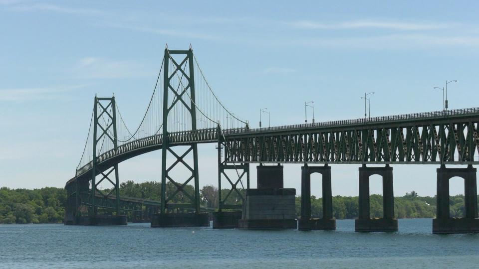 The Ogdensburg-Prescott International Bridge
