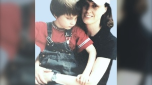 Edith Artner and her son are pictured: (Edith Artner)