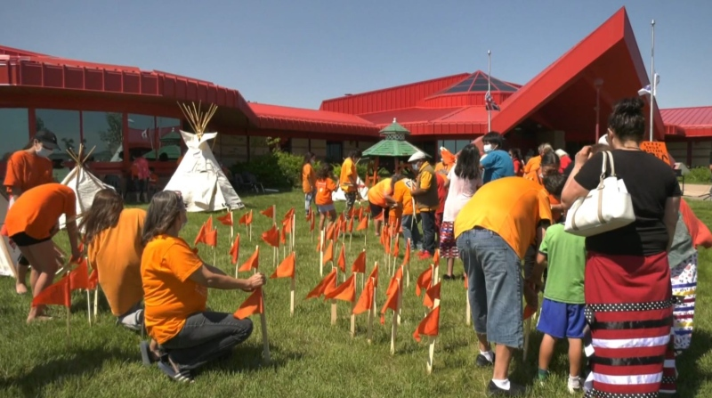 Cote First Nation hosts memorial event