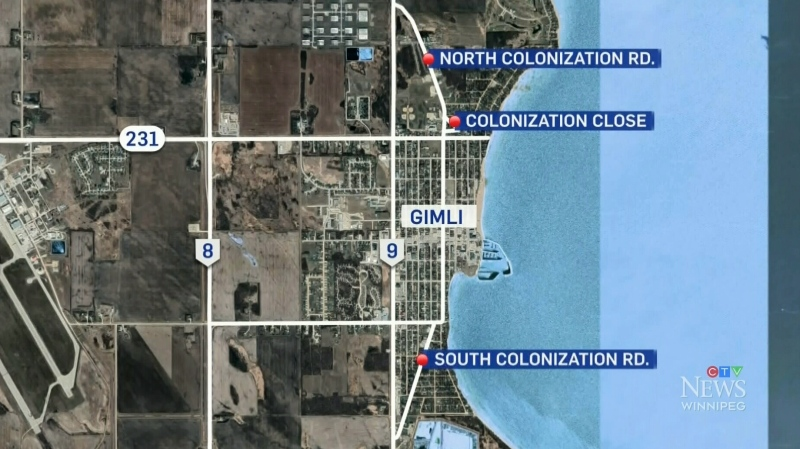 RM of Gimli considering road name changes