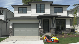 The 2021 PNE Prize Home is being built by a Langley developer in a new subdivision in South Surrey, on the edge of White Rock.
