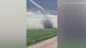 Wild storm blows through Sask.