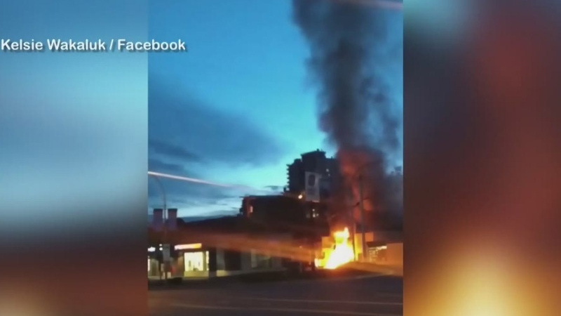 Firefighters concerned with recent Nanaimo fires