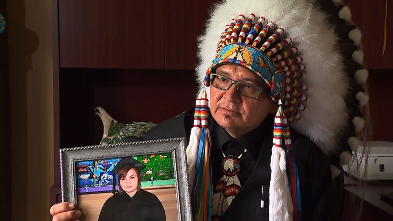 Chief Lee Kitchemonia recently lost his daughter to a crystal meth overdose. She was 24-years-old.