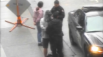 New video of handcuffed man and granddaughter